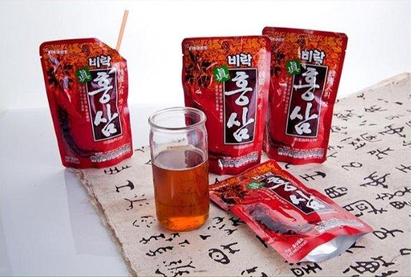 漢方素材配合の伝統健康飲料! ビラク 眞紅参 (140ml) ★おいしく飲める