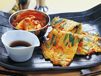 ◆韓国の美味しいチジミ粉、簡単に作れますよ!!◆CJ社/1kg