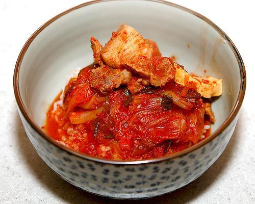 豚キムチチゲ-レシピ