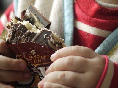 パンもクリームも柔らかいチョコパイ! [ロッテ] モンシェル★子供も大好き
