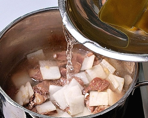 大根スープレシピ