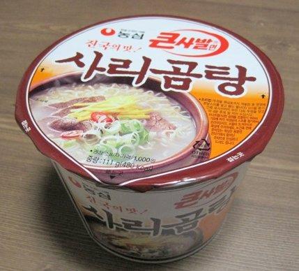 [農心] サリコムタン カップ麺〈大〉 (111g) ★カップで簡単!