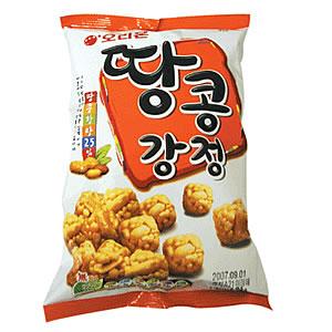 韓国伝統の「韓菓」★ピーナッツと水飴のサクサク甘~いお菓子/オリオン タンコンガンジョン 88g