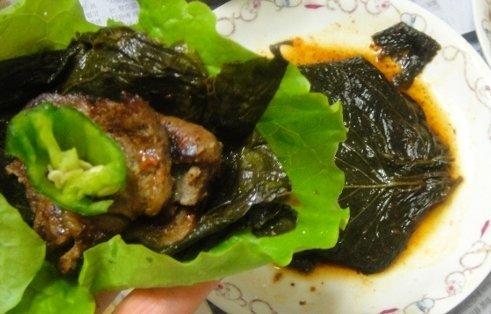 [泉標] エゴマの葉キムチ缶〈辛口〉 (90g) ★お肉に巻いて召し上がれ!