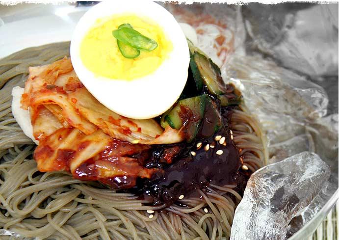 [五星] 宮殿ビビン冷麺セット<1人前> (220g) ★簡単!