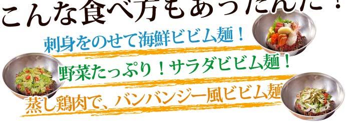 [五星] 宮殿ビビン冷麺セット<1人前> (220g) ★ピリ辛ソース!