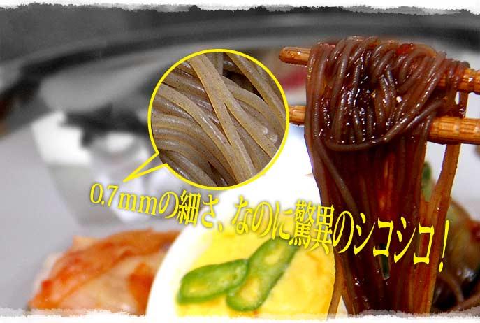[五星] 宮殿ビビン冷麺セット<1人前> (220g) ★コシコシ麺!